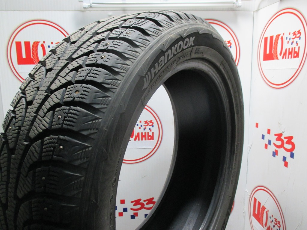 Б/У 235/55 R19 Зима Шипы  HANKOOK Winter I*Pike RW-11 Кат. 3