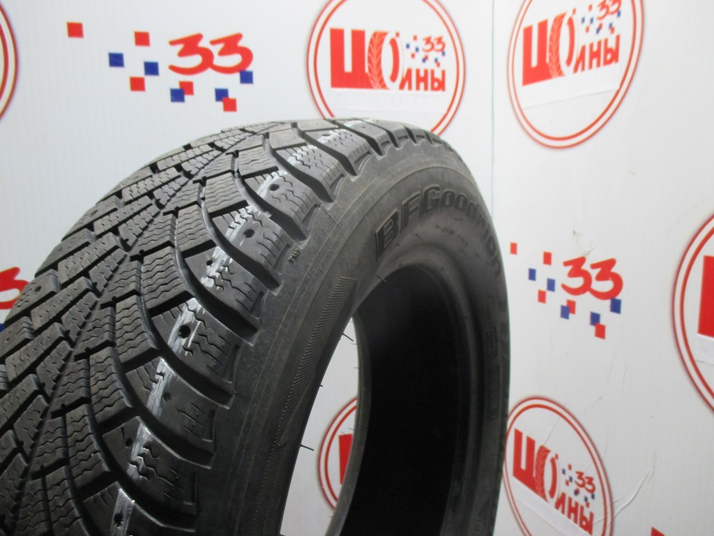 Б/У 195/65 R15 Зима Шипы  BFGoodrich G-Force Stud Кат. 5