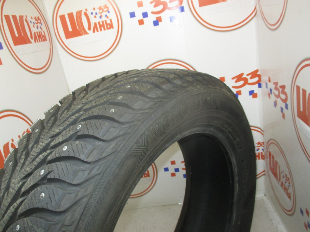 Б/У 225/60 R18 Зима Шипы  YOKOHAMA Ice Guard IG-35 Кат. 1