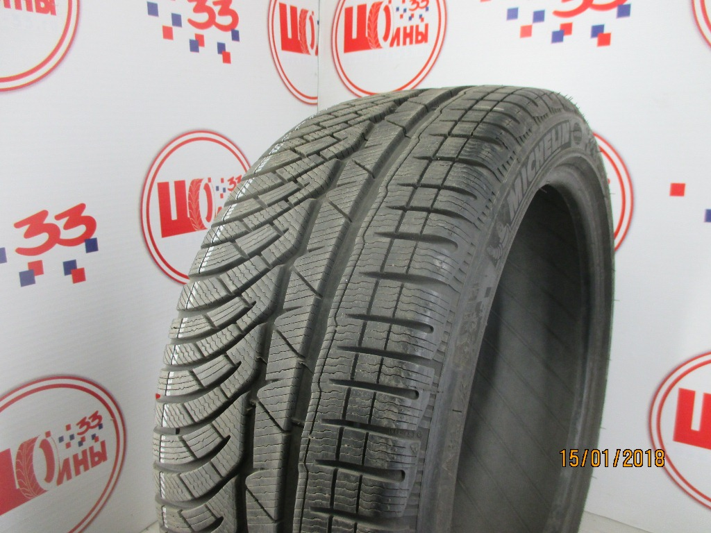 Б/У 245/40 R19 Зима MICHELIN Pilot Alpin PA-4 Кат. 2