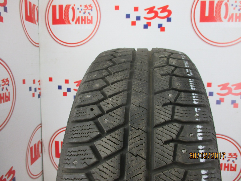 Б/У 225/55 R17 Зима Шипы  CONTINENTAL C.Winter Viking-2 Кат. 4