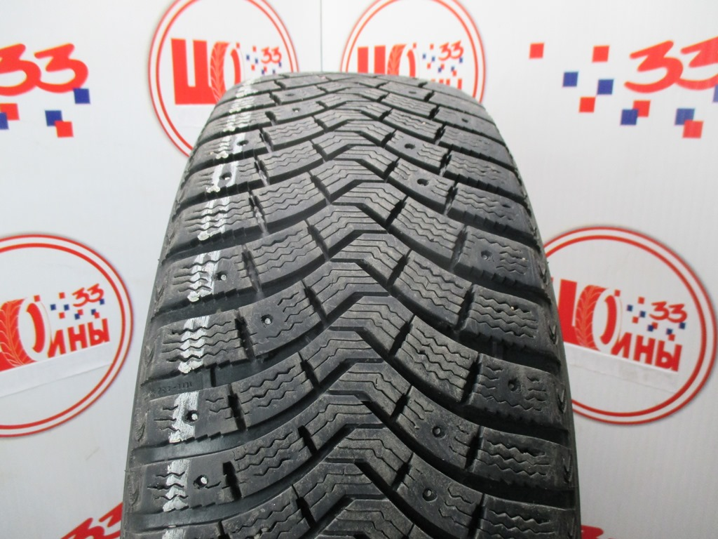 Б/У 235/60 R18 Зима Шипы  MICHELIN Latitude X-Ice North-2 Кат. 5