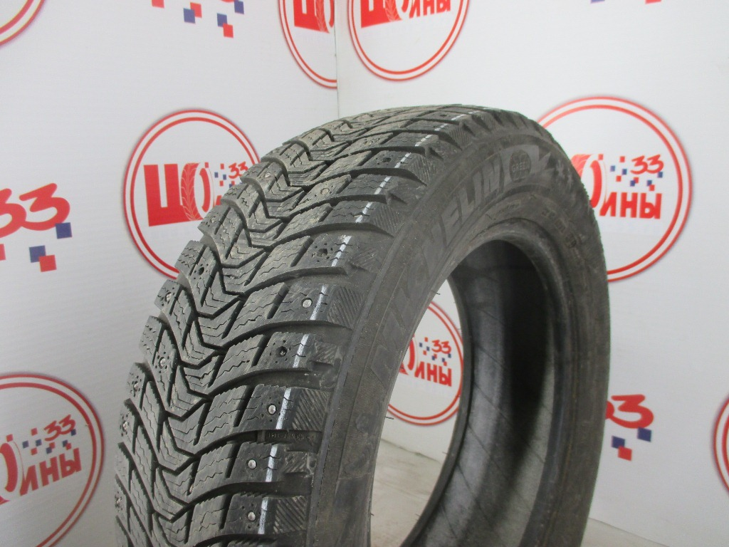 Б/У 185/65 R15 Зима Шипы  MICHELIN X-Ice North-3 Кат. 3