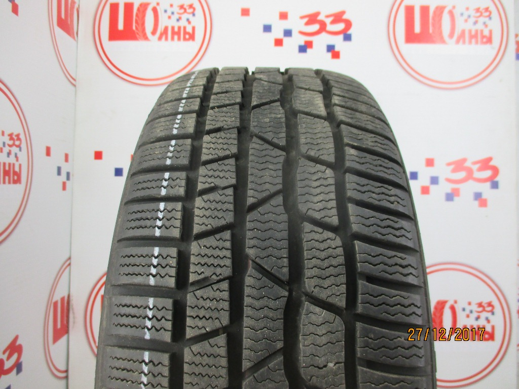 Б/У 215/45 R17 Зима CONTINENTAL C.Winter Contact TS-830 Р Кат. 2
