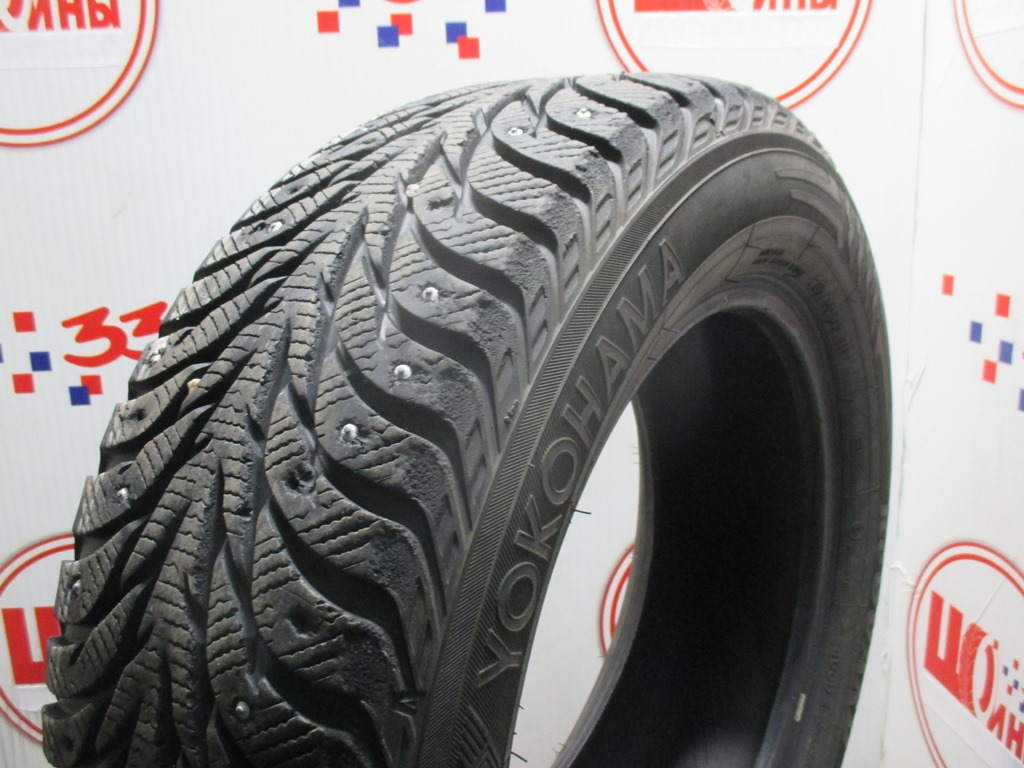 Б/У 205/60 R15 Зима Шипы  YOKOHAMA Ice Guard IG-35 Кат. 4