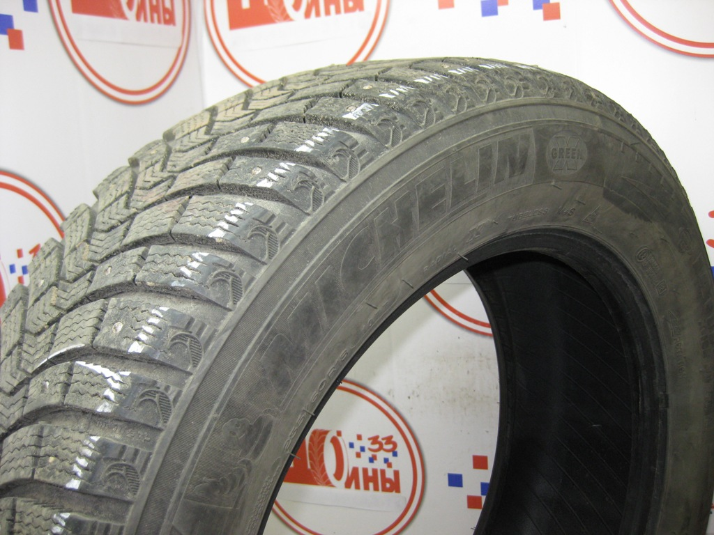 Б/У 235/60 R18 Зима Шипы  MICHELIN X-Ice North-2 Кат. 3