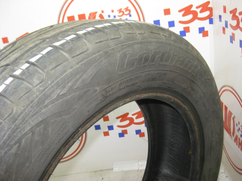 Б/У 185/65 R15 Лето Cordiant Road Runner PS-1 Кат. 4