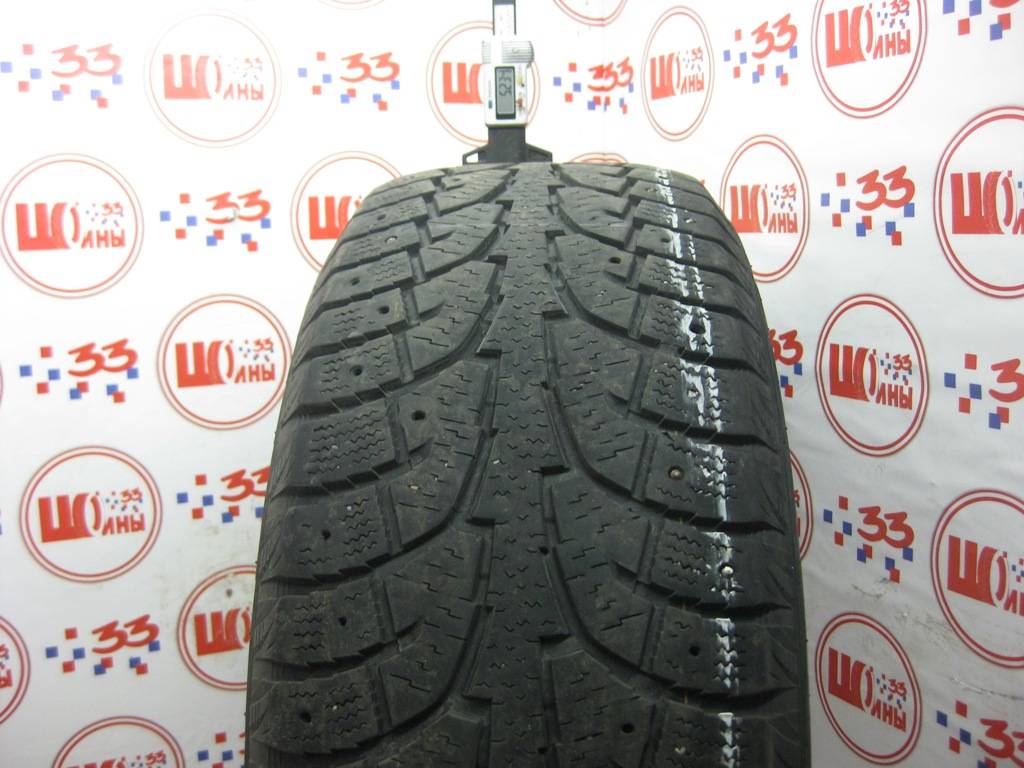 Б/У 235/60 R18 Зима Шипы  HANKOOK Winter I*Pike RW-11 Кат. 4