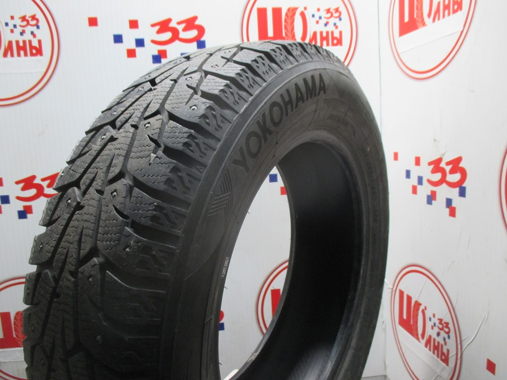 Б/У 185/65 R15 Зима Шипы  YOKOHAMA Ice Guard IG-55 Кат. 2
