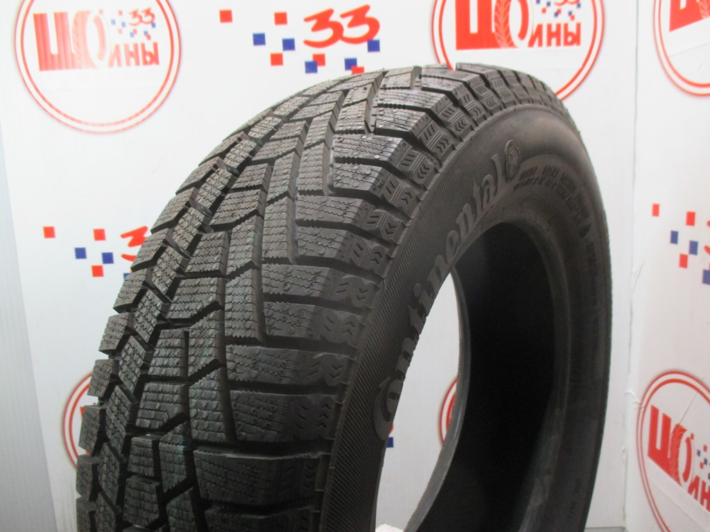 Б/У 185/65 R14 Зима CONTINENTAL C.Viking Contact-5 Кат. 1