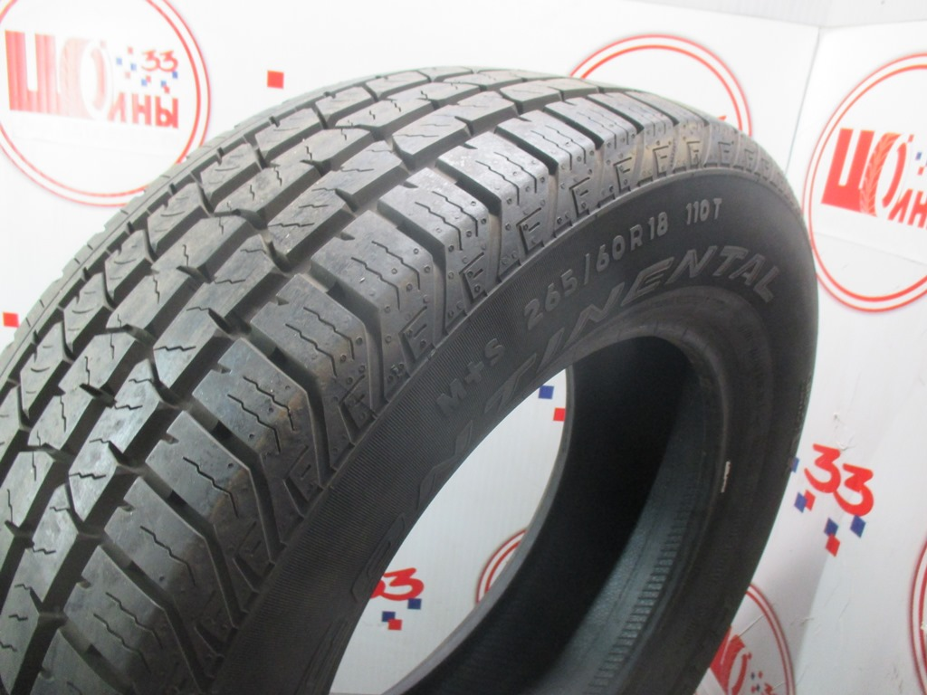 Б/У 265/60 R18 Лето CONTINENTAL C.Cross Contact LX Кат. 1