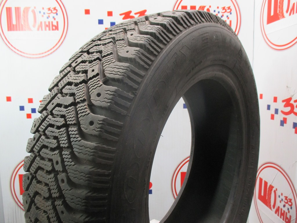 Б/У 205/70 R15 Зима Шипы  GOODYEAR Ultra Grip-500 Кат. 4