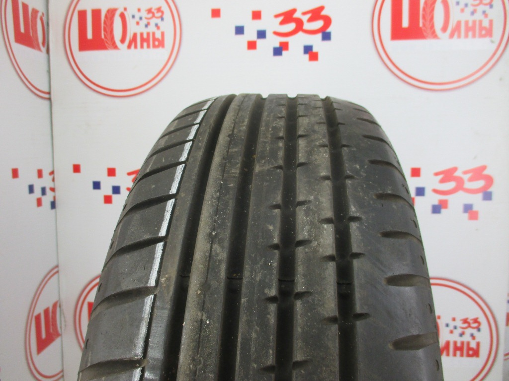 Б/У 205/55 R17 Лето CONTINENTAL Sport Contact-2 Кат. 3