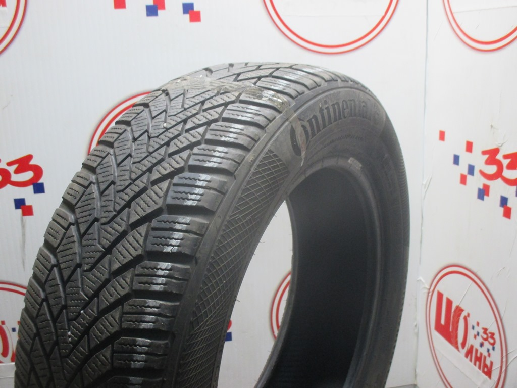 Б/У 185/60 R15 Зима CONTINENTAL C.Winter Contact TS-850 Кат. 5