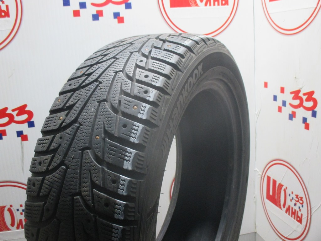 Б/У 195/55 R16 Зима Шипы  HANKOOK Winter I*Pike RS W-419 Кат. 4