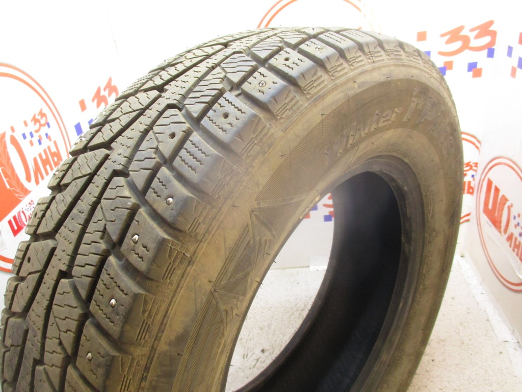 Б/У 215/70 R15C Зима Шипы  HANKOOK Winter I*Pike RW-09 Кат. 3