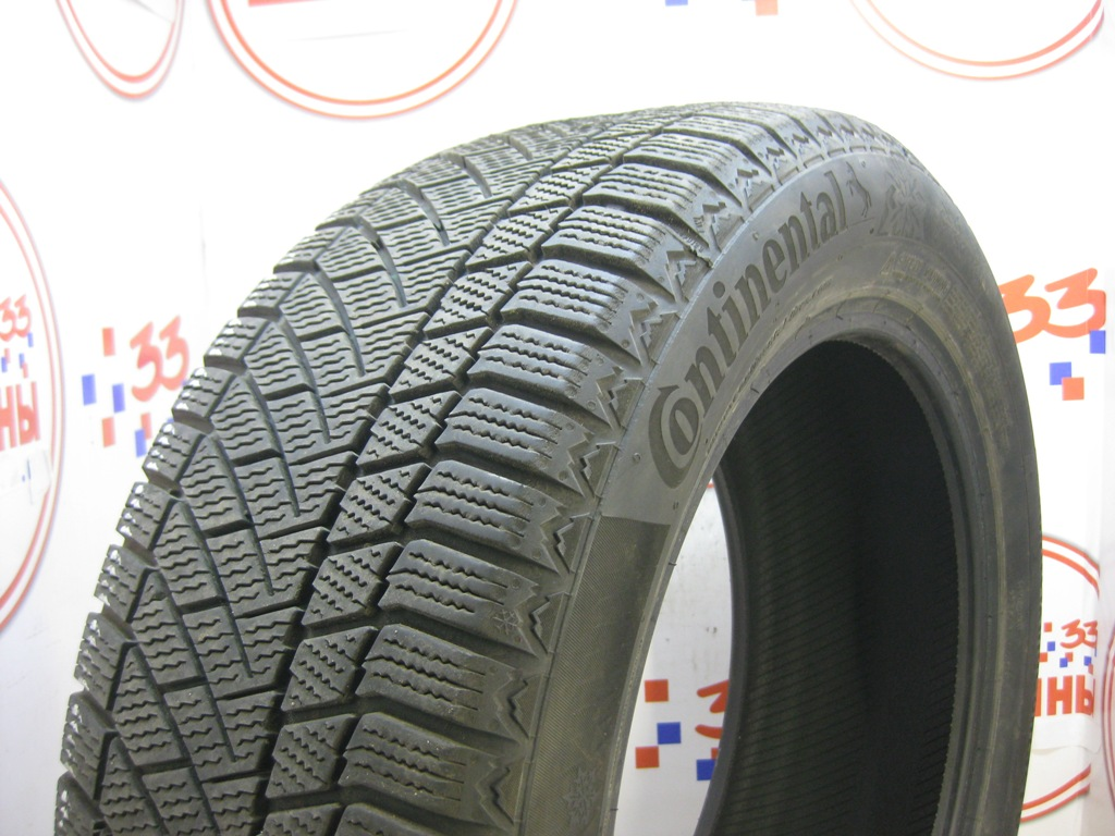 Б/У 215/55 R17 Зима CONTINENTAL C.Viking Contact-6 Кат. 2