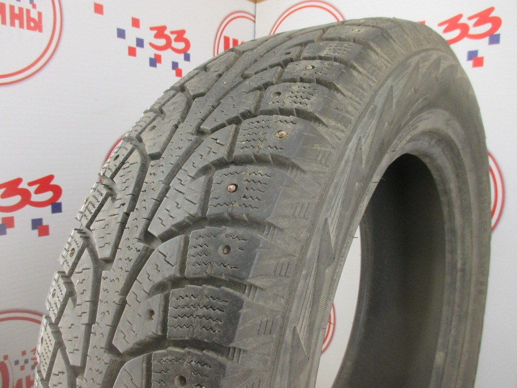 Б/У 235/65 R18 Зима Шипы  HANKOOK Winter I*Pike RW-11 Кат. 4