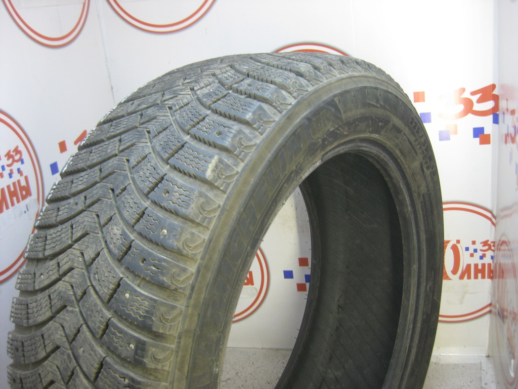 Б/У 225/55 R18 Зима Шипы  MICHELIN Latitude X-Ice North-2 Кат. 4