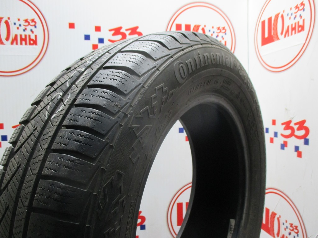 Б/У 195/65 R15 Зима CONTINENTAL C.Winter Contact TS-810 Кат. 3