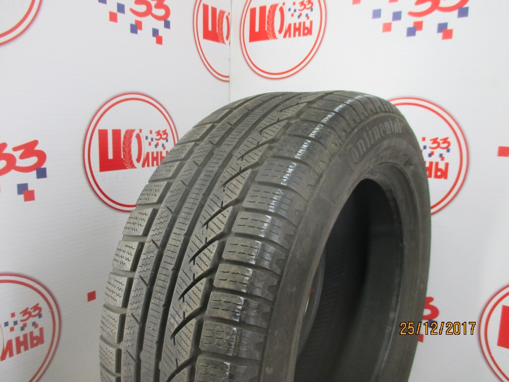 Б/У 225/55 R16 Зима CONTINENTAL C.Winter Contact TS-810 Кат. 4