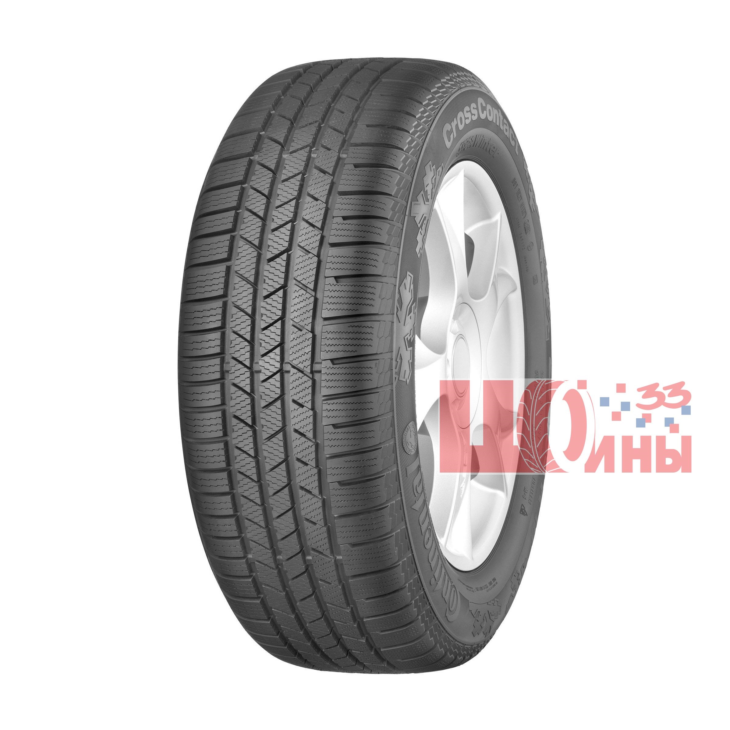 Б/У 235/55 R19 Зима CONTINENTAL C.Cross Contact Winter Кат. 4
