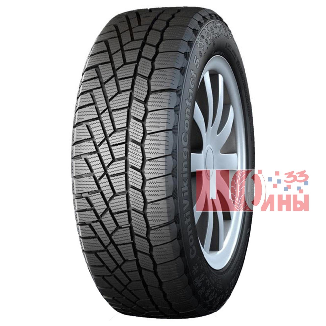 Б/У 225/50 R17 Зима CONTINENTAL C.Viking Contact-5 Кат. 4