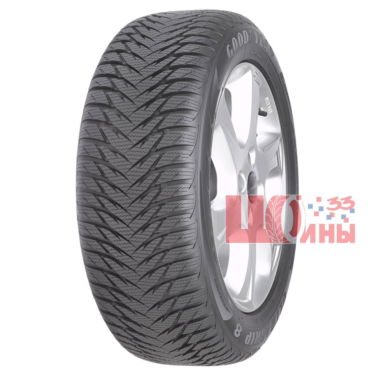 Б/У 205/55 R16 Зима GOODYEAR Ultra Grip-8 Кат. 2
